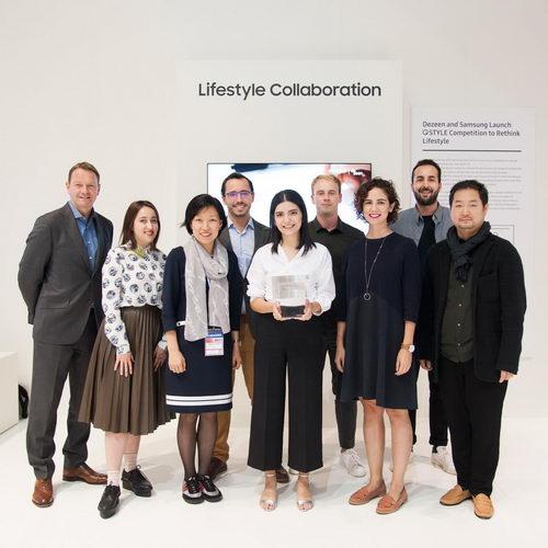 Samsung QLED TV Stand Tasarım Yarışması'nda Büyük Ödül Türkiye'nin
