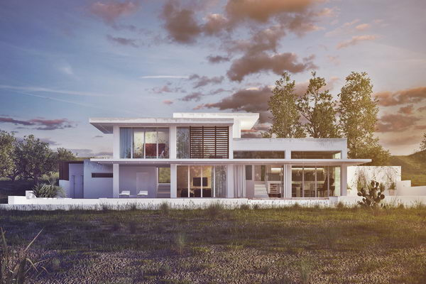 Contemporary House Yarışma Projesi