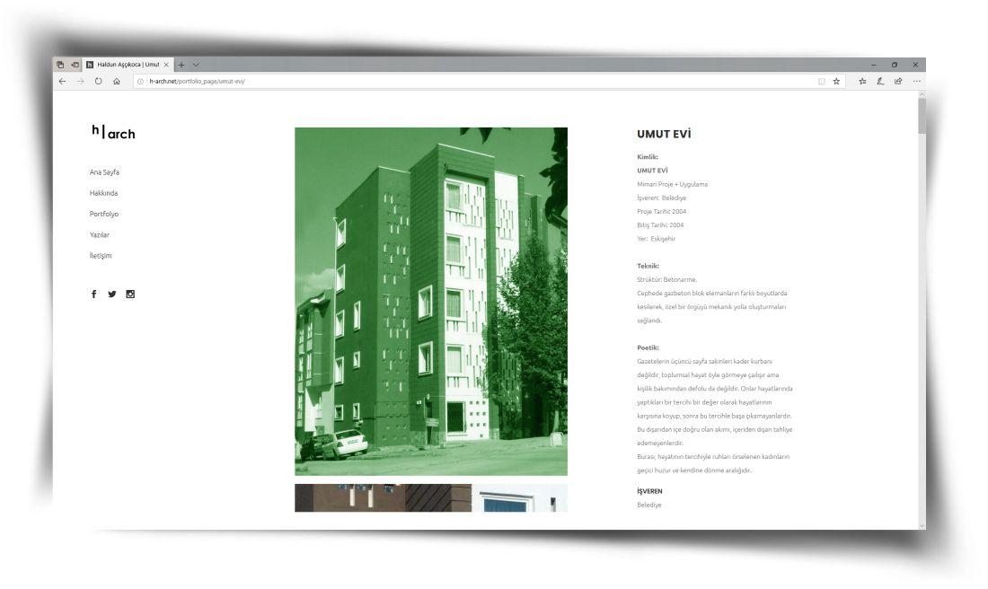 h-arch - Web Sitesi Tasarımı