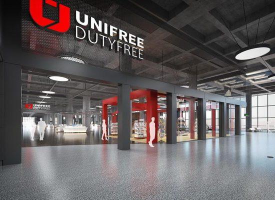 Dalaman Havalimanı - UniFree Duty Free - Mimari Görselleştirme