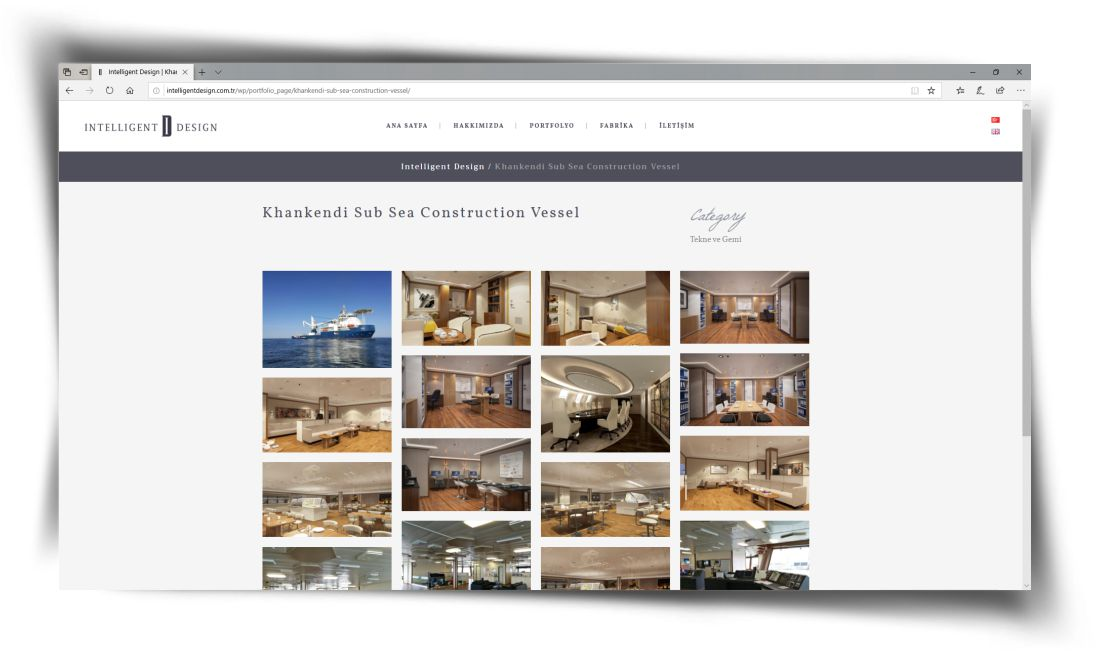 Intelligent Design - Web Sitesi Tasarımı