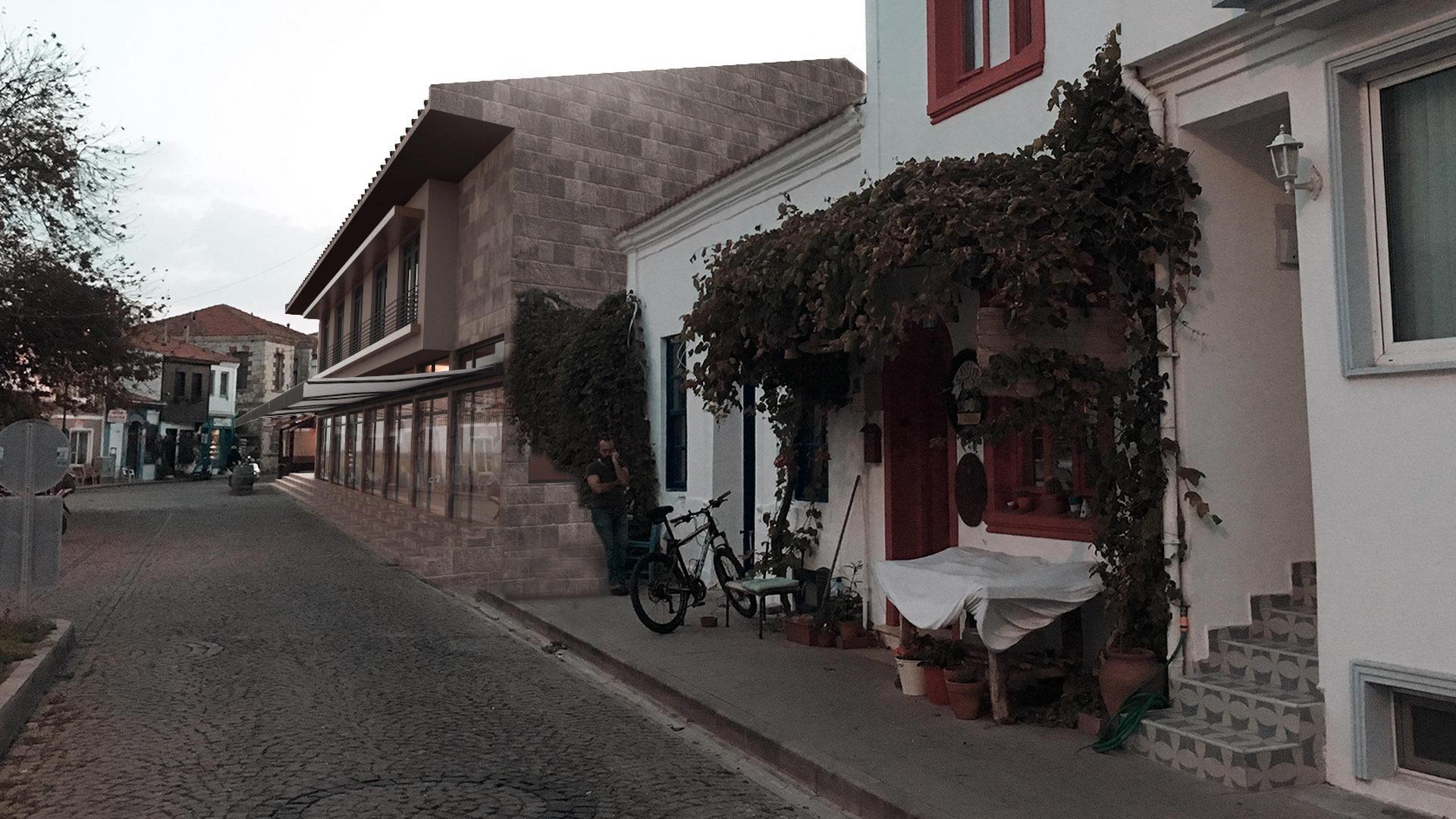 portfolio bozcaada belediye binası 1
