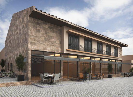 bozcaada belediye binası