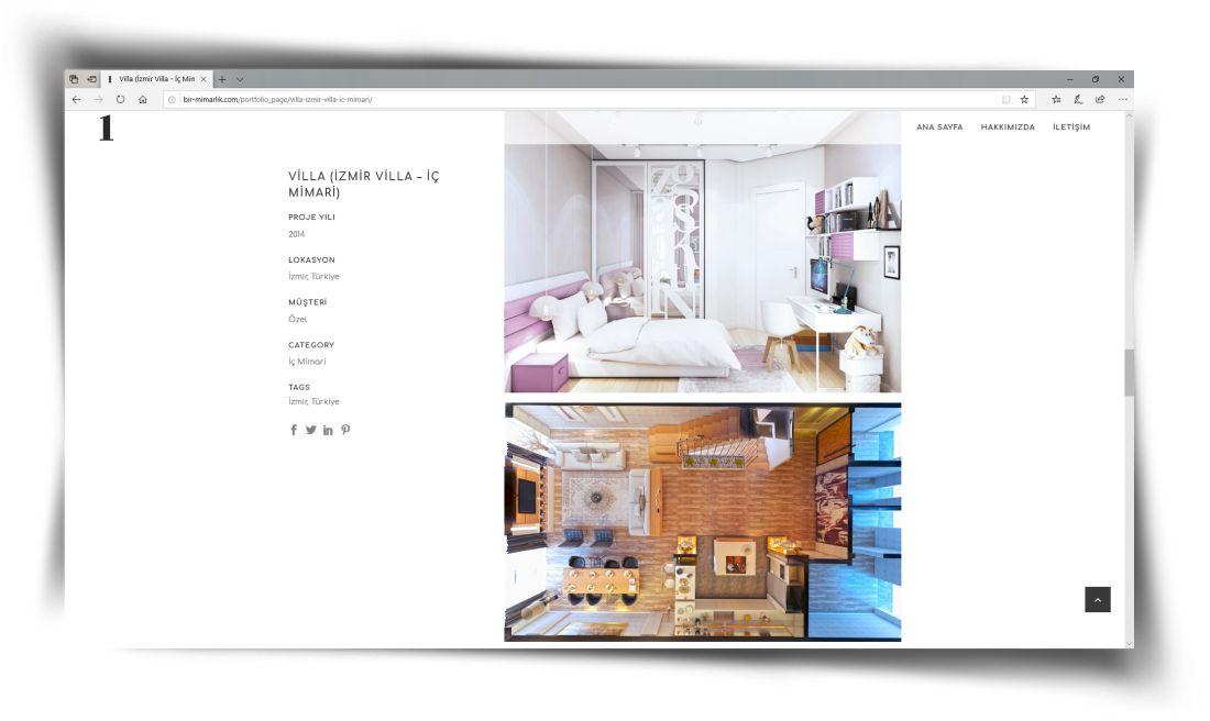 Bir Mimarlık - Web Sitesi Tasarımı