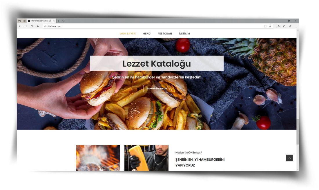 The One - Web Sitesi Tasarımı