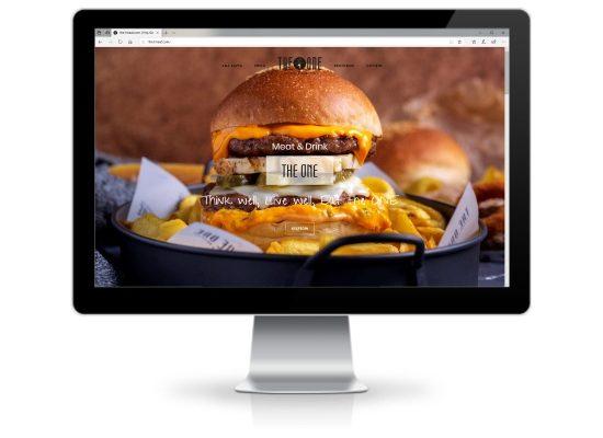 The One – Web Sitesi Tasarımı