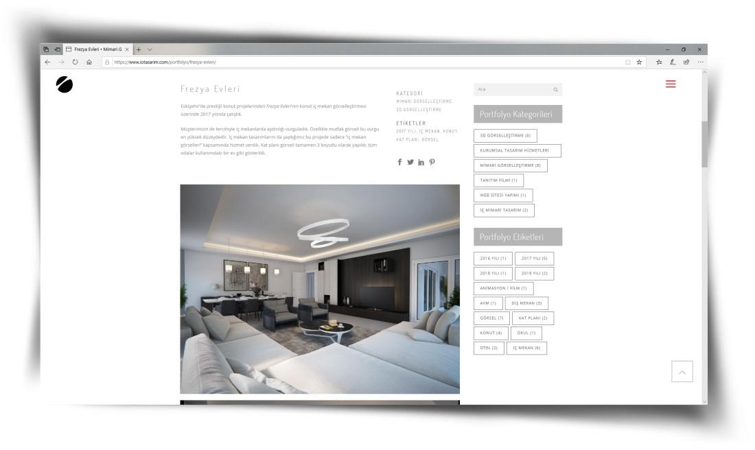 i&o tasarım - Web Sitesi Tasarımı