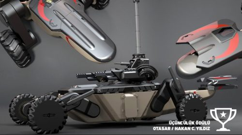 Roboik 2017 Otonom Kara Araçları Tasarım Yarışması sonuçları